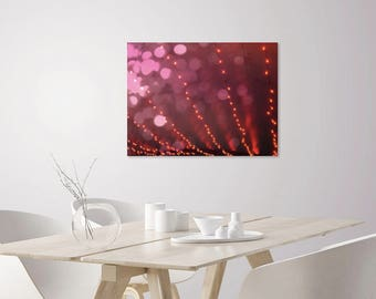 Abstract Art | Abstract Pink Print | Abstract Photography | Pink, Gold, Purple Abstract Wall Art Print | Lush Romantic Glamorous Modern Art