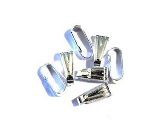 A simple 8mm ring - silver plated (25 pieces)