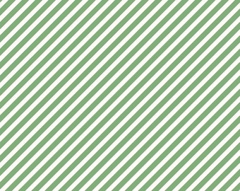 Green Stripe Fabric/ Green and White/ On Trend Fabric/ Riley Blake Fabric/ Striped Fabric/ Fabric by the Yard/ Cotton Fabric