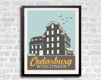 Cedarburg Mill Print