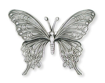 Solid Sterling Silver Butterfly Ring Jewelry  BY5-R