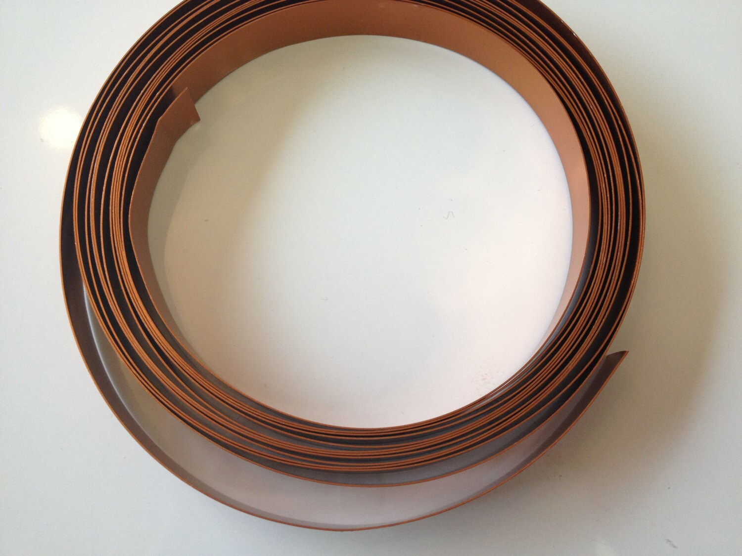 Wide Flat Copper Wire (1/2 in wide x 5 yd), copper wire, floral wire ...