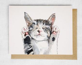 Kitty Cat Card