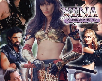Xena Inspired Cast #2 Throw Blanket