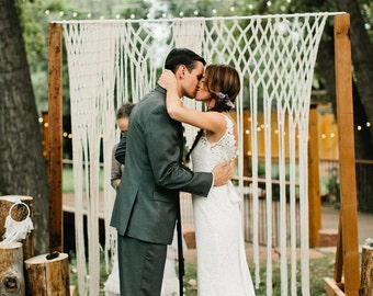 Boho Wedding Hanging for Wedding Decor on Arbors and Arches at Ceremonies and Receptions