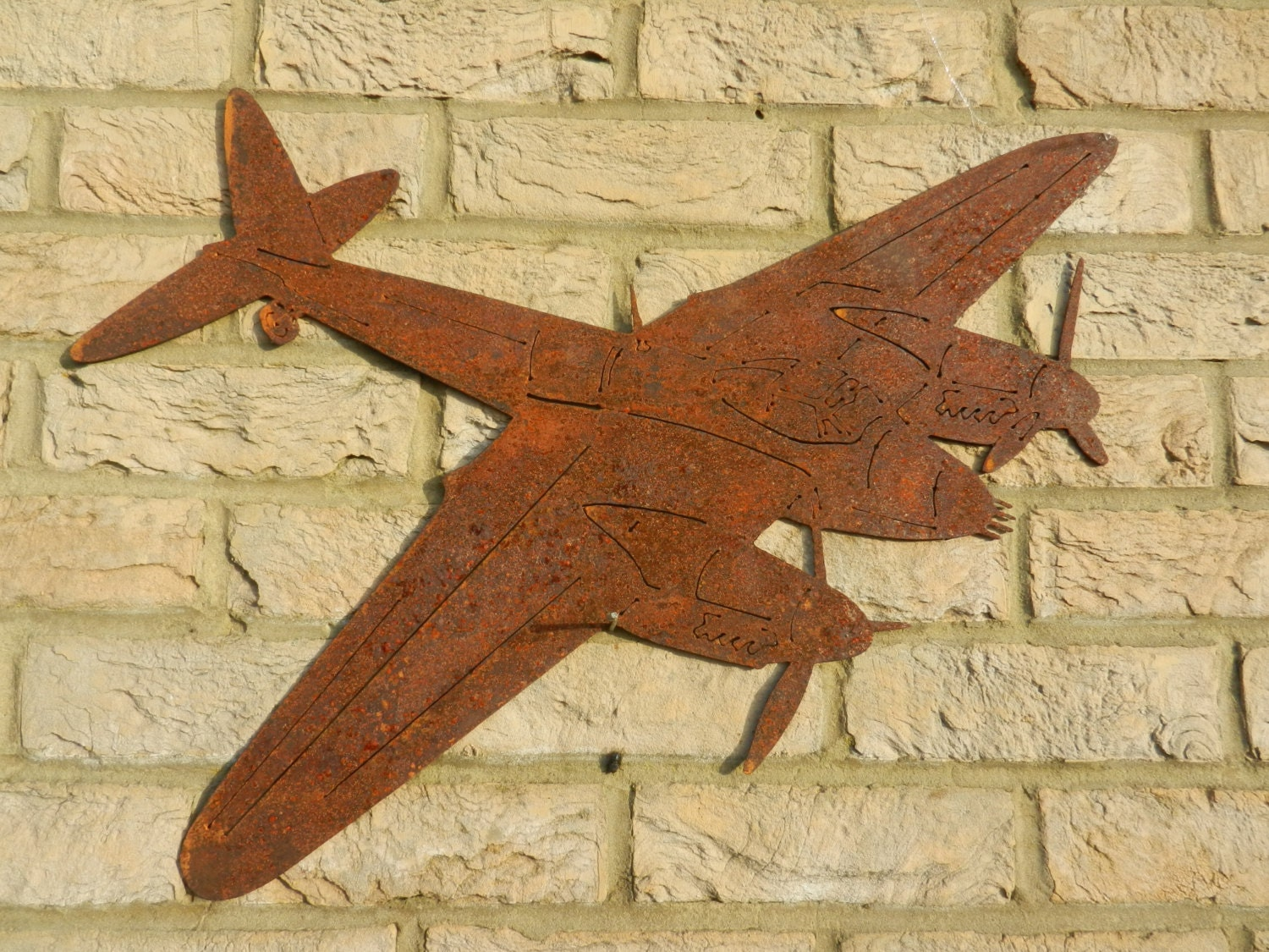 RAF Mosquito plane Wall Decor / De Havilland Mosquito / Wooden