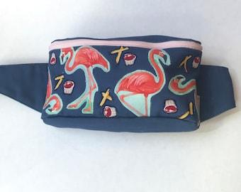 Flamingos French Fries and Ketchup Fanny Pack Bum Bag Hip Bag Hip Sack Sling Bag Shoulder Bag Backpack Festival Bag Festival Accessory