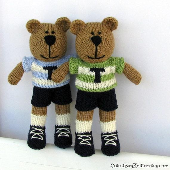 tricoter nounours