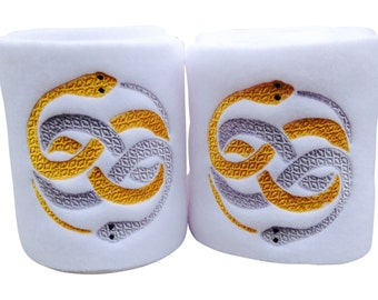 Neverending Story Auryn Embroidered Polo Wraps