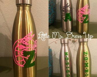 zombies water bottle/ zombies gear/ zombies gifts/ addison zombies / personalized gifts