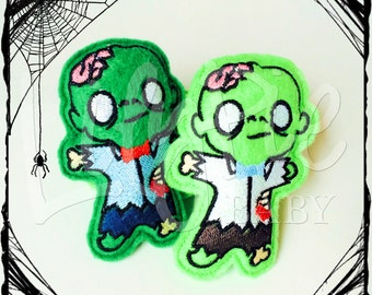 Zombie Hand Warmers (Set of 2) --> Pocket Zombies - Stuffed Zombies - Halloween Toys - Portable Warmth - Gifts for Kids - Stocking Stuffer