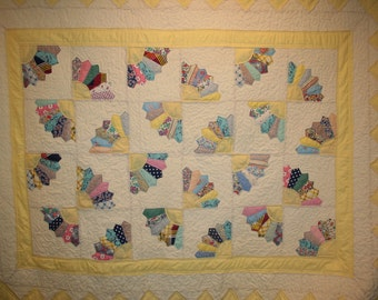 Quilt finishing - piecing, quilting and binding - have the quilt top that Grandma started finished and ready to use