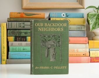 Antique Nature Book - Our Backdoor Neighbors - Frank C. Pellett