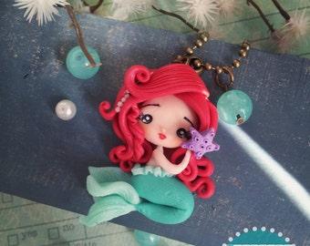 Ariel, the Little Mermaid necklace / Ariel, The little Mermaid