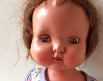 Mabel ~ Roddy Walking Doll ~ 1950's