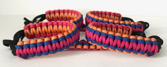 NEW Tri Color Paracord Grab Handle Set