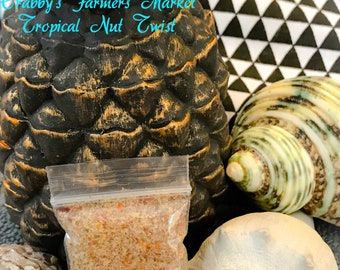 Tropical Nut Twist ~ Hermit Crab Food