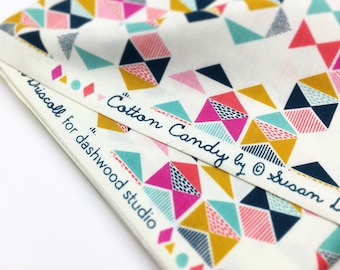 DASHWOOD PRINTED FABRIC Multicoloured printed cotton