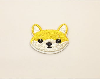 Cute dog patch - Iron on patch