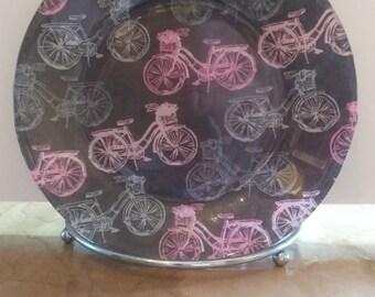 Beautiful handmade plate.