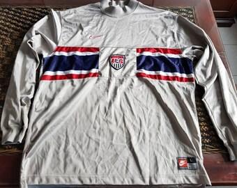 Rare 90s USA soccer team nike jersey