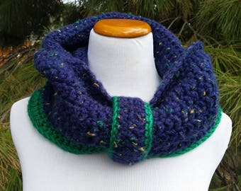 Cozy hooded cowls