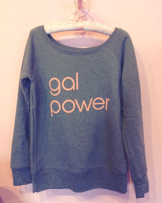 Gal Power wide neck fleece
