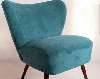 Newly Upholstered Mid Century Lounge Armchair 1960'