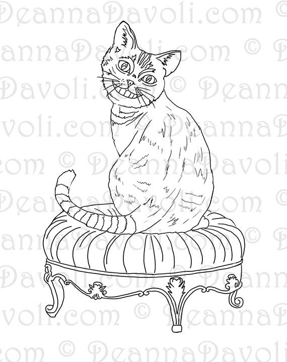 Cheshire Cat Coloring Page Alice In Wonderland Coloring Page Cheshire Cat Coloring Pages