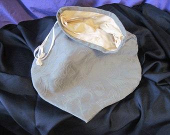 Olive Green Damask Bag
