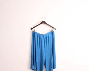 Slinky Blue Baggy Shorts