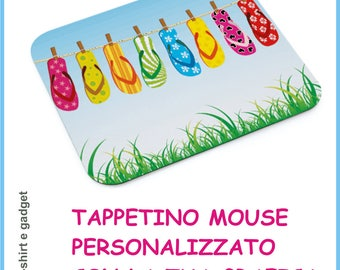 Mouse pad personalized with your graphics