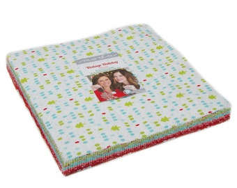 Vintage Holiday FLANNEL by Bonnie and Camille  -  Moda Layer Cake
