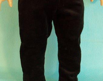 18 Inch Doll Black Corduroy Pants