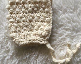 Infant Wool Pixie Bonnet