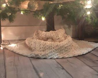 Crochet Chunky Tree Skirt