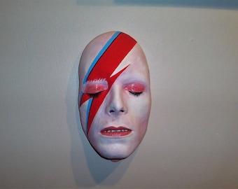Life Face Cast - David Bowie - Aladdin Sane Version 2