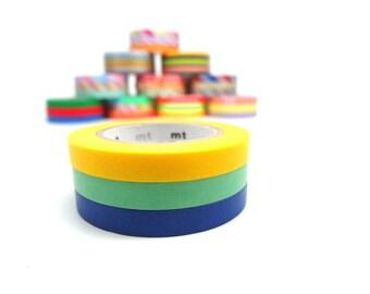MT Slim Washi Tape Set Basic Pattern G