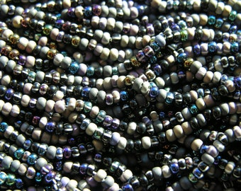 Midnight Sparkle Seed Bead Mix Size 6