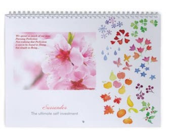 2018 Recovery Wall Calendar: Surrender