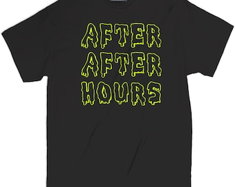 Misky & Stone After After Hours After 4am Party Music Festival Edm Rave T Shirt