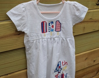 4th of July Toddlee dress
