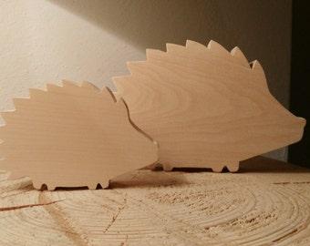 Riccio in legno