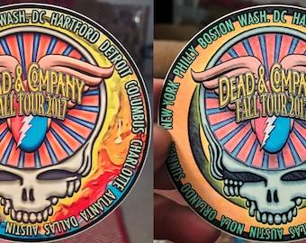 Grateful Deadd & C0 commemorative fall tour sticker