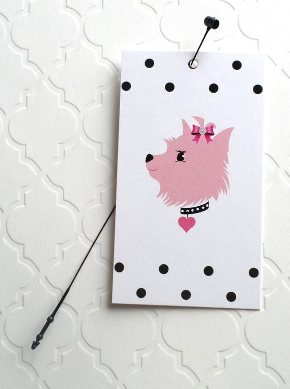 100 price tags hang tags retail tags boutique tags cute pink