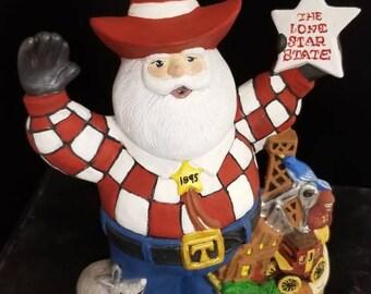 Santa Claus Texas Ranger