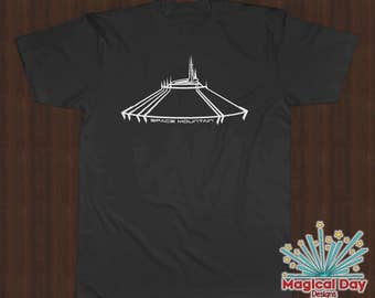 Disney Shirts - Space Mountain (White Design)