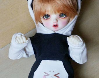 1:6 YoSD Sized Ball Jointed Doll 4 Pcs Cat Ears Hoodie Combo - FREE SHIPPING