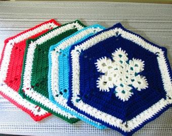 Snowflake Placemat Set