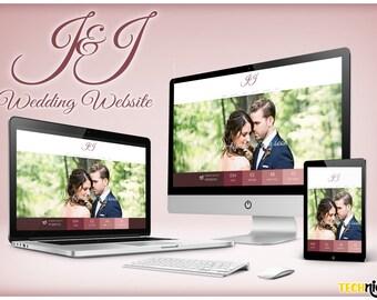 J&J Wedding Website